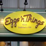 エッグスンシングス (Eggs 'n Things) 日本1号店 原宿店