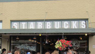 スターバックスコーヒー 世界 1号店 シアトル Pike place店